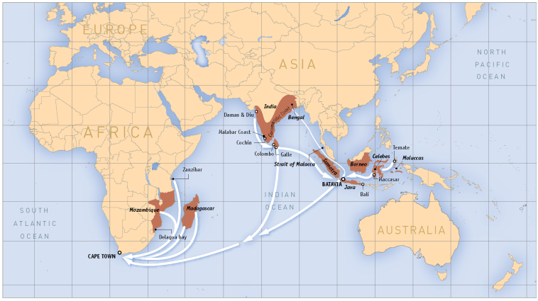 indian ocean routes