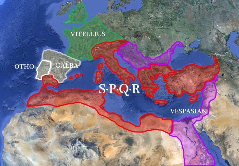 The Roman Empire - AD 69